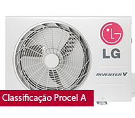 Ar Condicionado Split Hi Wall Inverter Libero Artcool LG 18000 BTUs Quente/Frio 220V - ASW182CRG2