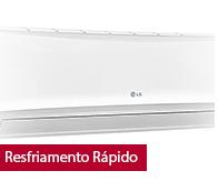 Ar Condicionado Split Smile LG 24000 BTUs Frio 220V - TSUC2425NW0