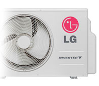 Ar Condicionado LG Split High Wall Inverter Libero Art Cool 22000 BTUs Frio 220V - ASUQ242CRG2