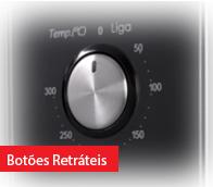 Forno Elétrico de Embutir Nardelli Black One Inox Preto 45L 220V - 10016349