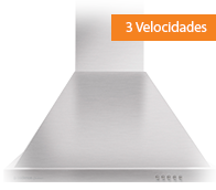 Coifa de Parede Cadence Gourmet Inox 60cm 220V - CFA160