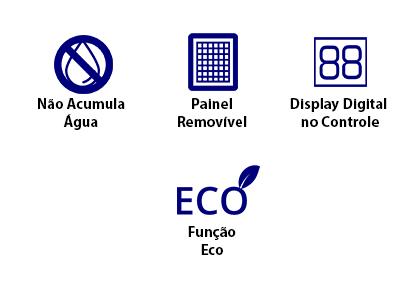 Ar Condicionado Split Cassete Carrier 46.000 Btus 220V Quente/Frio - 38CQD048535MC