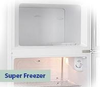 Refrigerador Electrolux Cycle Defrost 260 Litros - Branca 2 Portas 127V - DC35A.