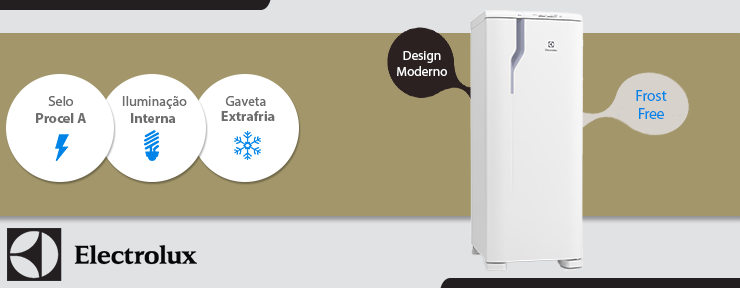 Refrigerador Electrolux Frost Free 323 Litros - Branca 1 Porta 127V - RFE39