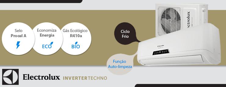 Ar Condicionado Electrolux Split Inverter 12.000 Btus 220V Frio - BI12F/BE12F