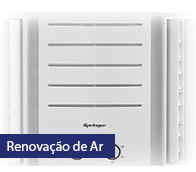 Ar-condicionado Janela Springer Duo Mecânico 10.000 BTUs Frio 220V - QCA105BBB